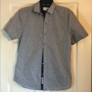 Craft + Flow  Short sleeved dress shirt si…